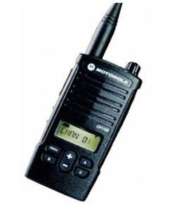Motorola Walkie Talkie (Analog)
